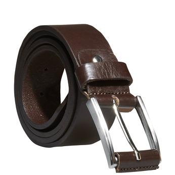Klassischer Ledergürtel bata, Braun, 954-4833 - 13
