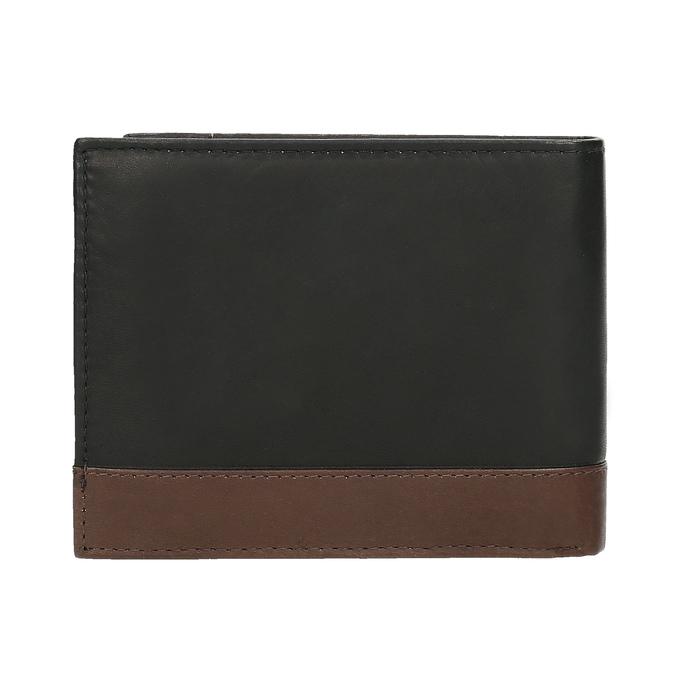 Herren-Geldbörse aus Leder bata, Schwarz, 944-6149 - 16