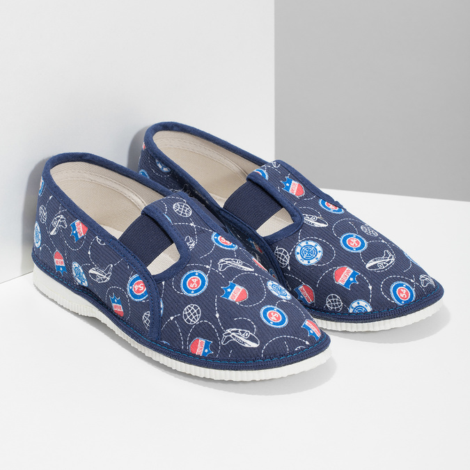 Kinder-Pantoffeln bata, Blau, 379-9012 - 26