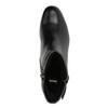Stiefeletten aus Leder mit niedrigem Absatz bata, Schwarz, 694-6630 - 19