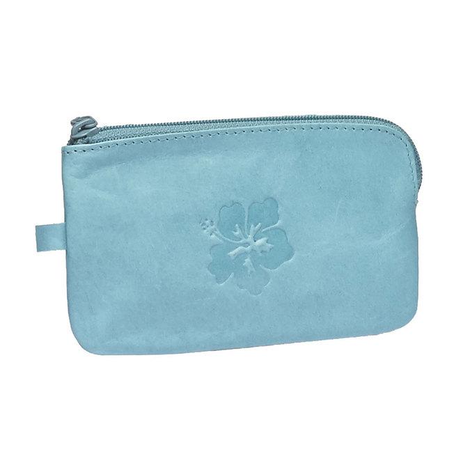 Geldbörse aus Leder bata, Blau, 944-9161 - 13