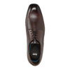 Herrenhalbschuhe im Derby-Stil aus Leder bata, Braun, 824-4752 - 19