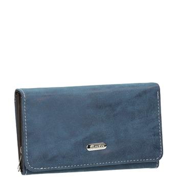 Blaue Damen-Geldbörse bata, Blau, 941-9153 - 13