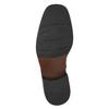 Knöchelschuhe aus Leder mit wärmender Fütterung bata, Schwarz, 894-6640 - 19
