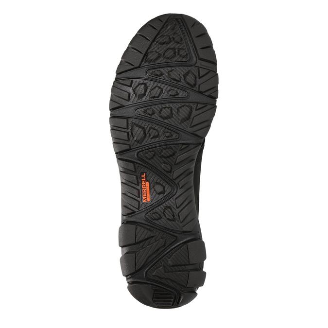 Herren-Sneakers aus Leder merrell, Schwarz, 806-6836 - 26