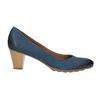 Lederpumps bata, Blau, 626-9639 - 15