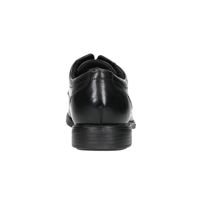 Schwarze Halbschuhe aus Leder rockport, Schwarz, 824-6127 - 17