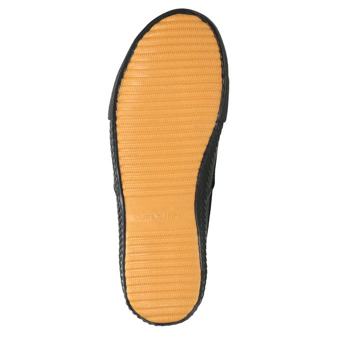Schwarze Herren-Sneakers tomy-takkies, Schwarz, 889-6227 - 26