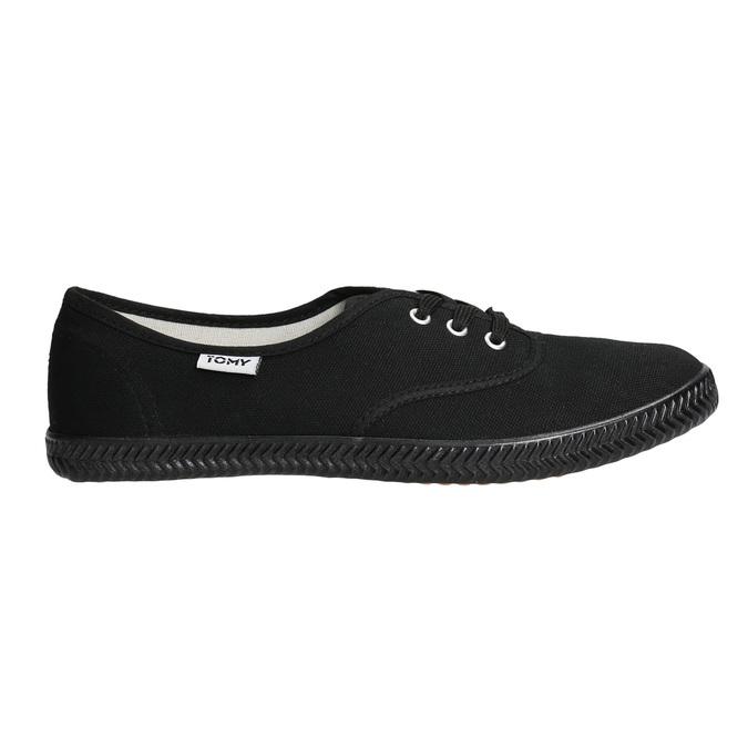 Schwarze Damen-Sneakers tomy-takkies, Schwarz, 589-6180 - 15