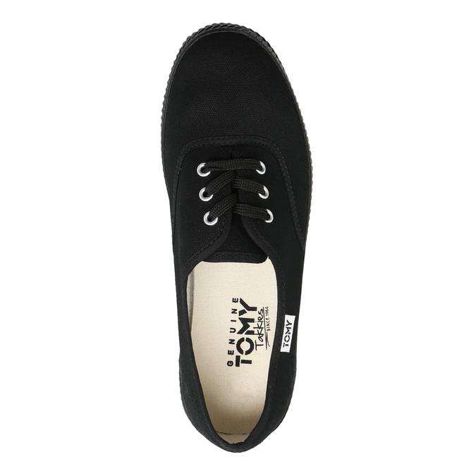Schwarze Damen-Sneakers tomy-takkies, Schwarz, 589-6180 - 26