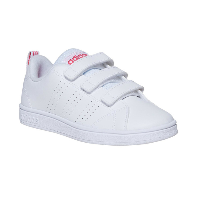 Mädchen-Sneakers mit Klettverschluss adidas, Weiss, 301-1268 - 13