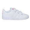 Mädchen-Sneakers mit Klettverschluss adidas, Weiss, 301-1268 - 15