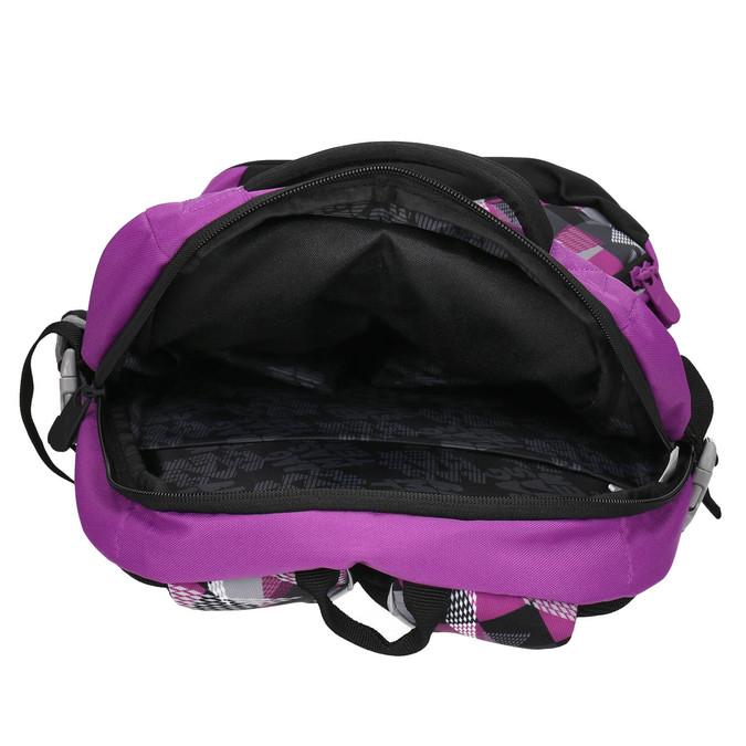 Schulrucksack mit Print bagmaster, Violett, 969-5656 - 15