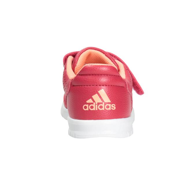 Kinder-Sneakers mit Klettverschluss adidas, Rosa, 101-5161 - 16