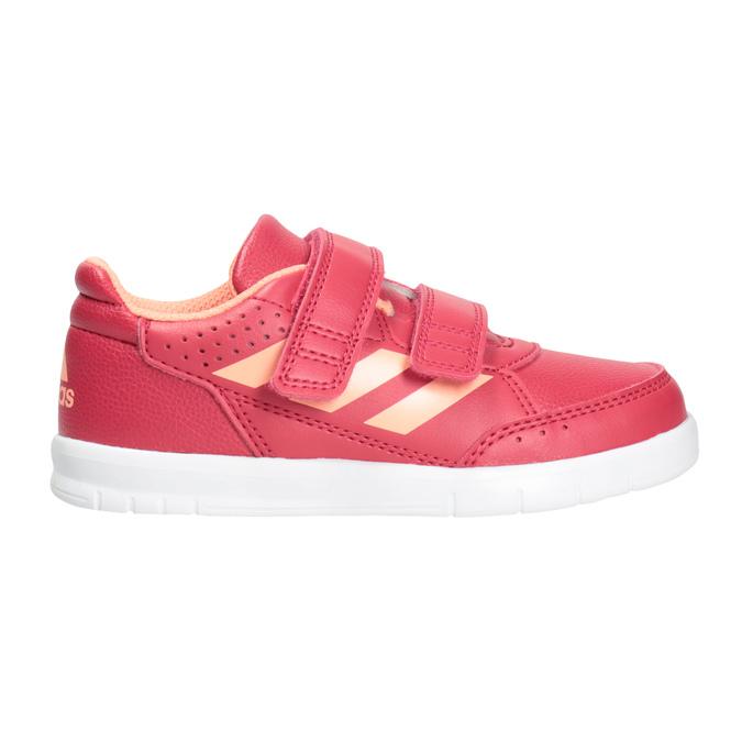 Kinder-Sneakers mit Klettverschluss adidas, Rosa, 101-5161 - 26