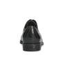 Damen-Lederhalbschuhe mit Steppung bata, Schwarz, 524-6661 - 15