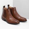 Braune Chelsea Boots aus Leder bata, Braun, 896-3400 - 26