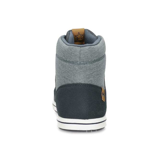 Blaue, knöchelhohe Sneakers north-star, Blau, 841-9608 - 15