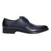 Herren-Lederhalbschuhe im Derby-Look bata, Blau, 826-9682 - 15