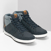 Blaue, knöchelhohe Sneakers north-star, Blau, 841-9608 - 26
