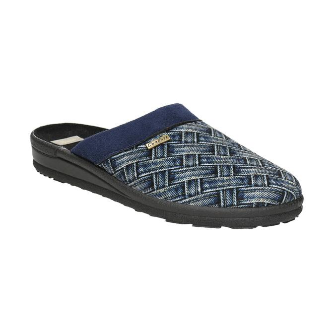 Herren-Hausschuhe bata, Blau, 879-9611 - 13