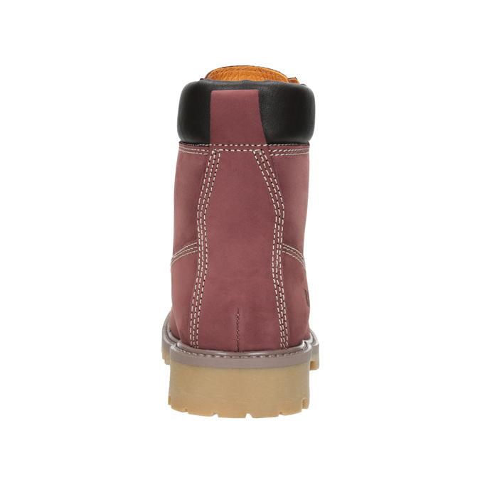 Knöchelschuhe mit markanter Sohle weinbrenner, Rot, 596-5664 - 16