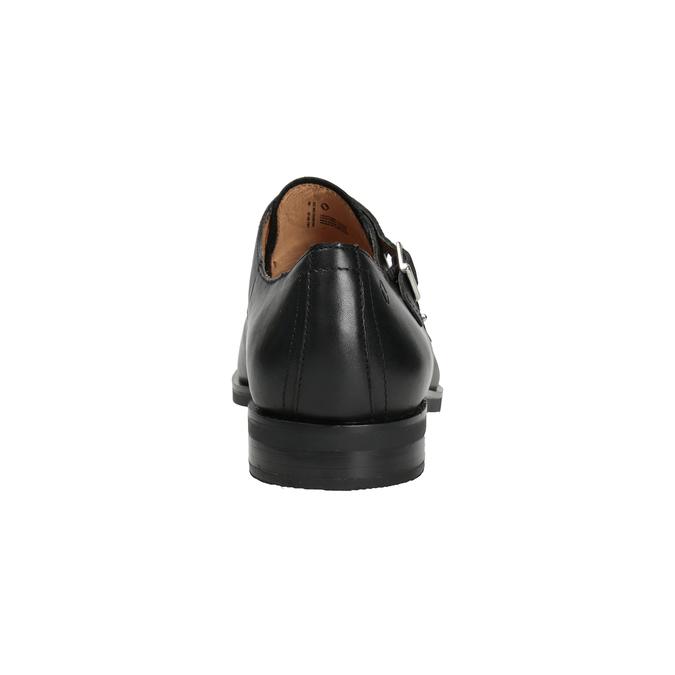 Herren-Monk-Shoes aus Leder vagabond, Schwarz, 814-6023 - 16