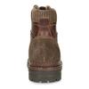 Winterstiefeletten aus Leder bata, Braun, 896-4661 - 15