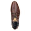 Herren-Knöchelschuhe aus Leder bata, Braun, 826-3926 - 15