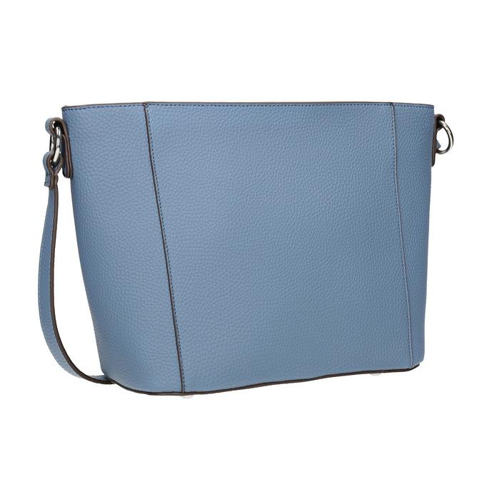 Blaue Crossbody-Damenhandtasche bata, Blau, 961-9842 - 13