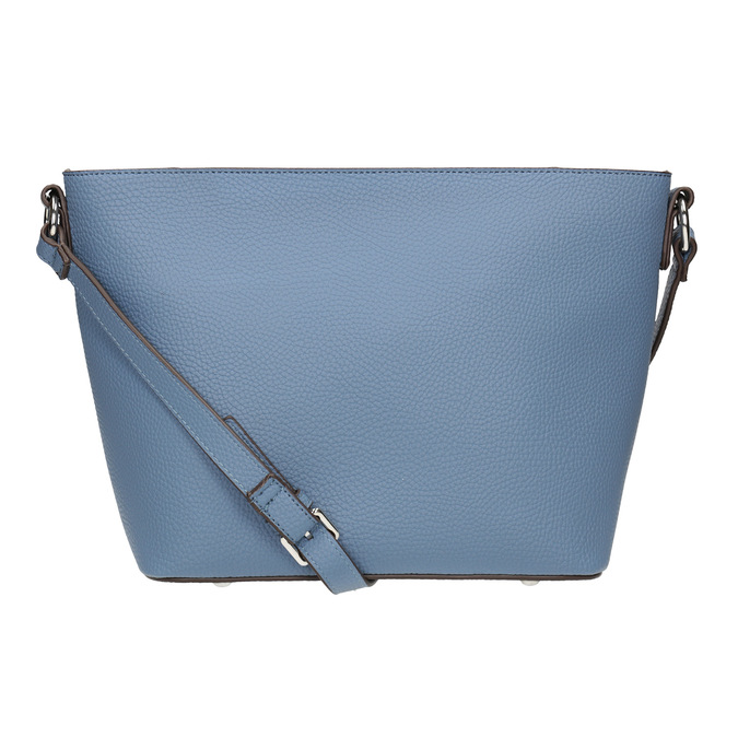 Blaue Crossbody-Damenhandtasche bata, Blau, 961-9842 - 16