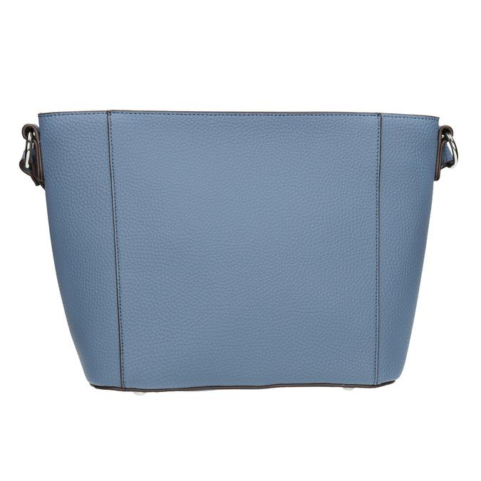 Blaue Crossbody-Damenhandtasche bata, Blau, 961-9842 - 26