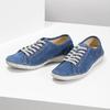 Legere Lederhalbschuhe weinbrenner, Blau, 546-9603 - 16