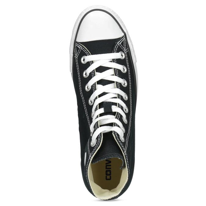 Knöchelhohe Damen-Sneakers converse, Schwarz, 589-6278 - 17