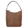Braune Lederhandtasche bata, Braun, 964-3254 - 26